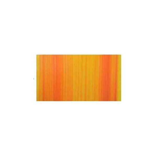 Wachsplatte Multicolor Hell-orange-gestreift (20x10cm) 9714