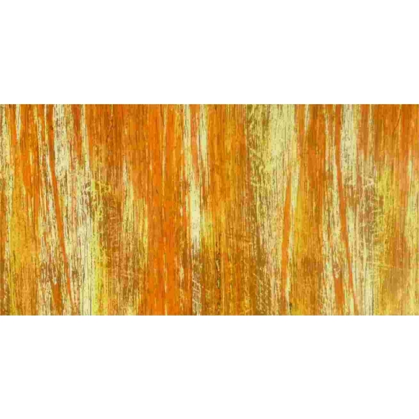 Wachsplatte Multicolor hell-orange-gold 20x10cm