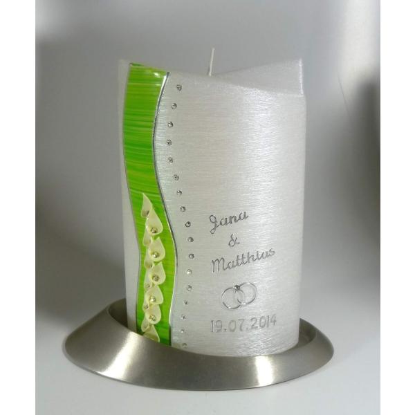 Kerzen Junglas Perlmutt